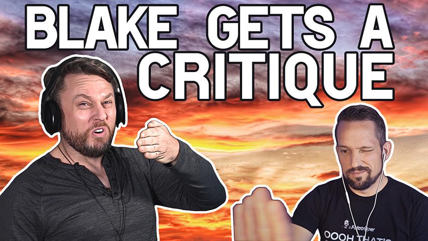 Gavin Hardcastle Critiques Blake