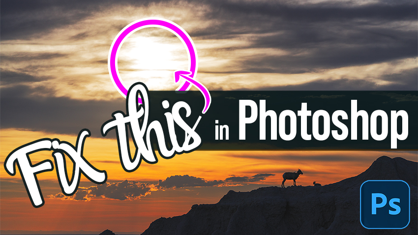 Fix Any Highlight Blowout in Photoshop in Seconds