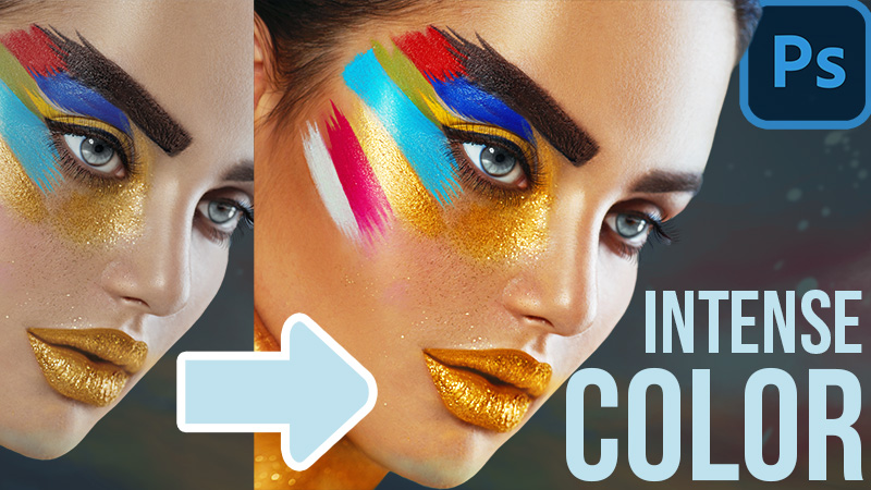 Natural Intense Color Boost in Photoshop
