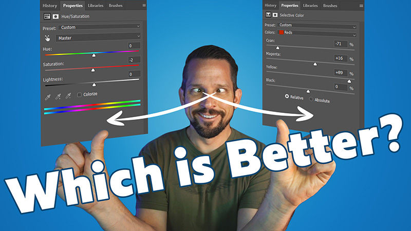 The Battle of the Color Tools in Photoshop