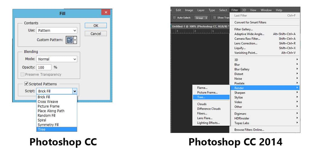 How to Make a Tree in Photoshop CC - f64 Academy