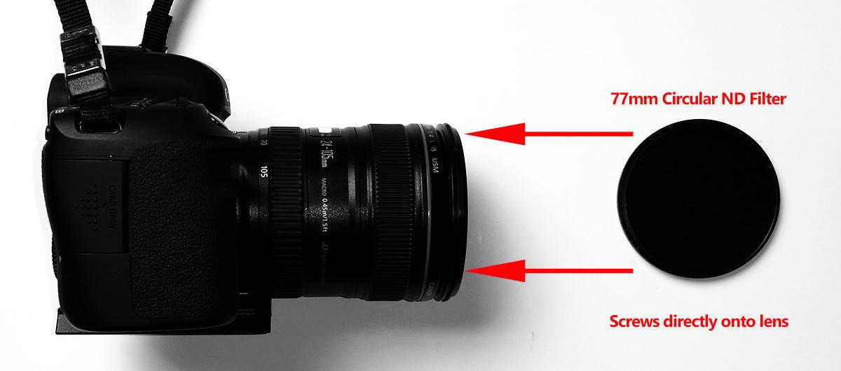 Circular-ND-Filter