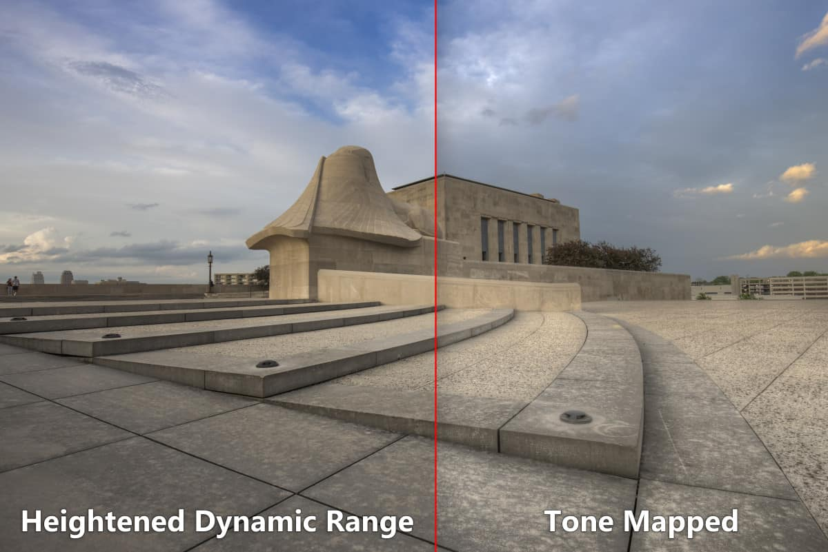 HDR Photography Example of HDR vs Tone Map