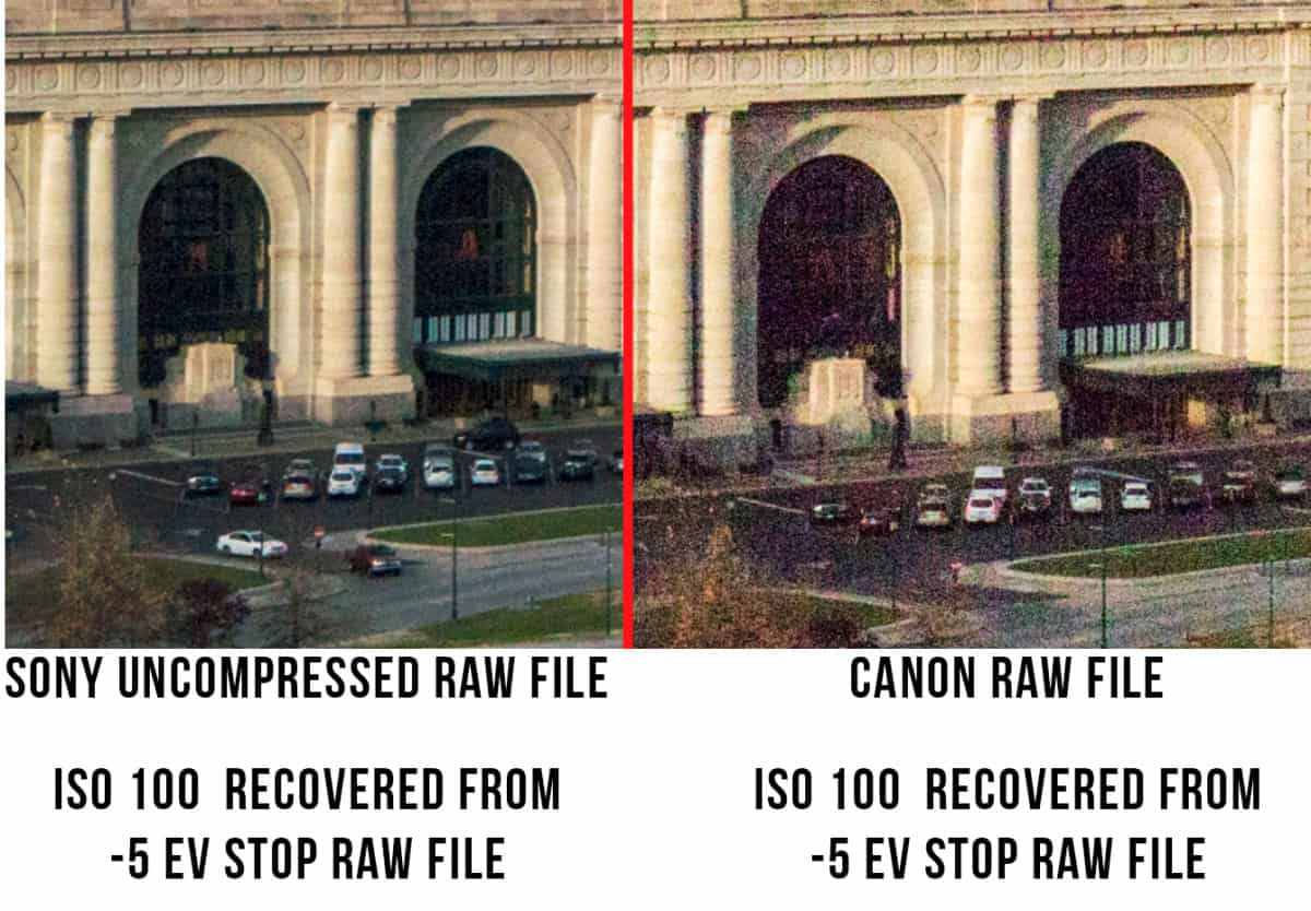 uncompressed Raw File Example