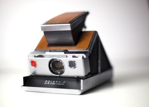 Polaroid SX 70 Land Camera