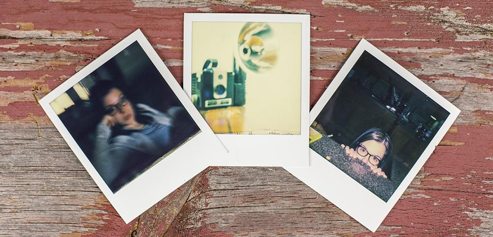 Polaroid SX 70 Land Camera Pictures