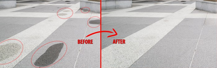 Before After Patch Tool in Photoshop 2