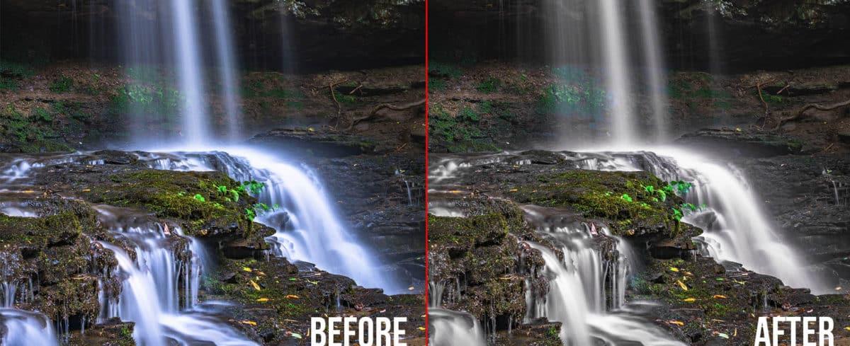 Blue Waterfalls fix