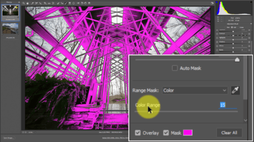 Luminosity Masking Adobe Camera Raw Lightroom Color Range Mask